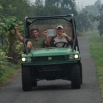 Driving the Gator!