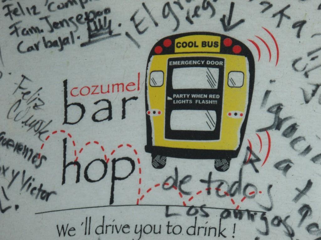 Cozumel Bar Hop!